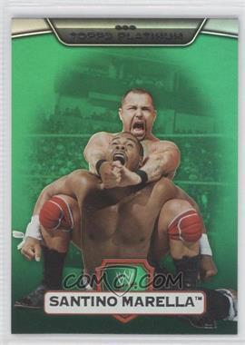 2010 Topps Platinum WWE [???] #112 - Santino Marella /499