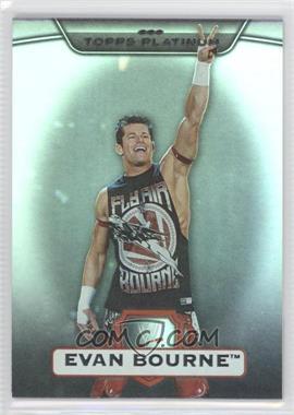 2010 Topps Platinum WWE [???] #21 - Evan Bourne