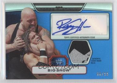 2010 Topps Platinum WWE [???] #37 - Big Show /99