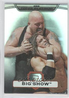 2010 Topps Platinum WWE [???] #37 - Big Show