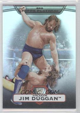 2010 Topps Platinum WWE [???] #39 - Jim Duggan