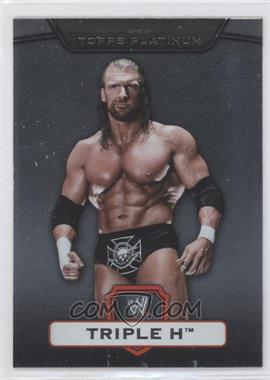 2010 Topps Platinum WWE [???] #55 - Triple H