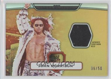 2010 Topps Platinum WWE [???] #93 - John Morrison