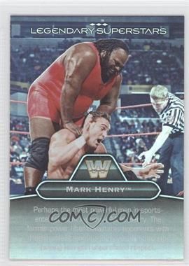 2010 Topps Platinum WWE [???] #LS-7 - Mark Henry, One Man Gang