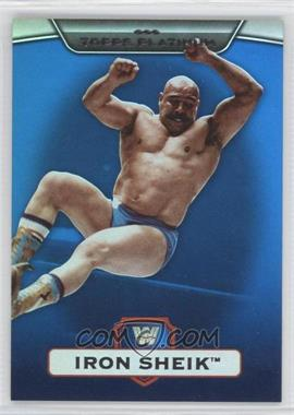 2010 Topps Platinum WWE Blue #10 - Iron Sheik /199