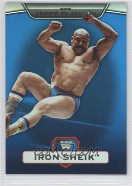 2010 Topps Platinum WWE Blue #10 - The Iron Sheik /199