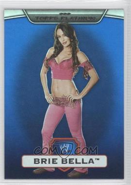 2010 Topps Platinum WWE Blue #123 - Brie Bella /199