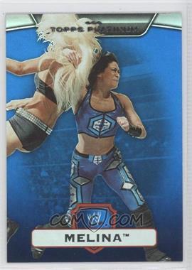2010 Topps Platinum WWE Blue #14 - Melina /199