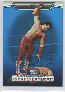"2010 Topps Platinum WWE Blue #17 - Ricky ""The Dragon"" Steamboat /199"