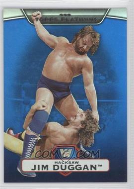 2010 Topps Platinum WWE Blue #39 - Jim Duggan /199