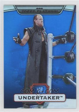 2010 Topps Platinum WWE Blue #73 - Undertaker /199