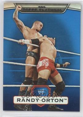 2010 Topps Platinum WWE Blue #97 - Randy Orton /199