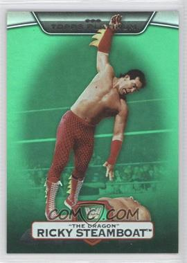 "2010 Topps Platinum WWE Green #17 - Ricky ""The Dragon"" Steamboat /499"