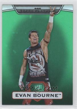 2010 Topps Platinum WWE Green #21 - Evan Bourne /499