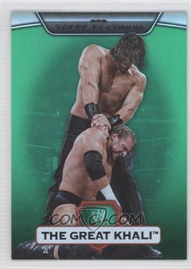 2010 Topps Platinum WWE Green #26 - The Great Khali /499