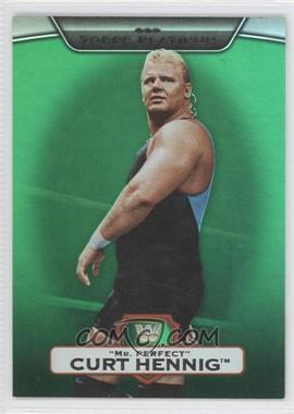2010 Topps Platinum WWE Green #46 - Curt Hennig /499