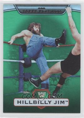 2010 Topps Platinum WWE Green #51 - Hillbilly Jim /499