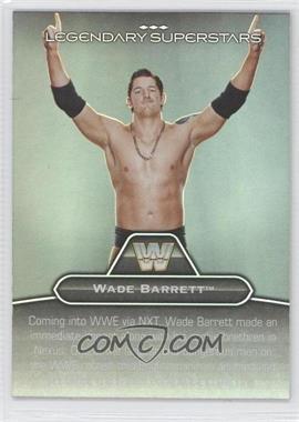2010 Topps Platinum WWE Legendary Superstars #LS-25 - British Bulldog, Wade Barrett