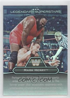 2010 Topps Platinum WWE Legendary Superstars #LS-7 - Mark Henry, One Man Gang
