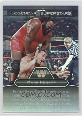 2010 Topps Platinum WWE Legendary Superstars #LS-7 - Mark Henry, One Man Gang