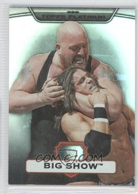2010 Topps Platinum WWE Rainbow #37 - Big Show