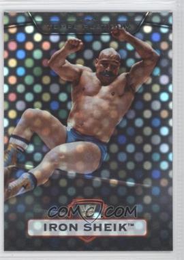 2010 Topps Platinum WWE X-Fractor #10 - Iron Sheik