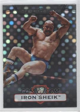 2010 Topps Platinum WWE X-Fractor #10 - Iron Sheik /50