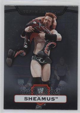 2010 Topps Platinum WWE #100 - Sheamus