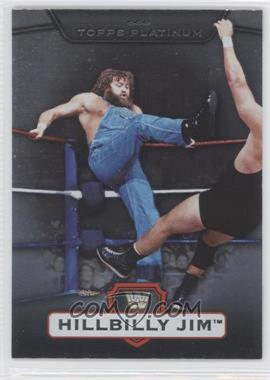 2010 Topps Platinum WWE #51 - Hillbilly Jim