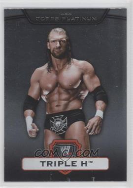 2010 Topps Platinum WWE #55 - Triple H