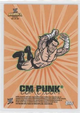 2010 Topps Rumble Pack - [???] #23 - CM Punk