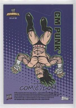 2010 Topps Rumble Pack - [???] #24 - CM Punk