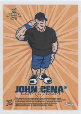2010 Topps Rumble Pack - [???] #3 - John Cena