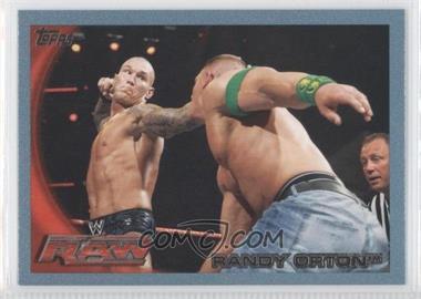 2010 Topps WWE - [Base] - Blue #9 - Randy Orton /2010