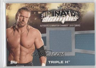 2010 Topps WWE - Elimination Chamber Mat Relics #EC-3 - Triple H