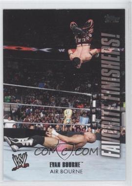 2010 Topps WWE - Favorite Finishers! #FF6 - Evan Bourne