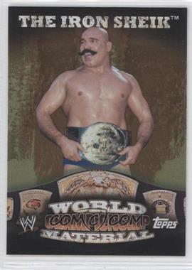 2010 Topps WWE [???] #N/A - The Iron Sheik