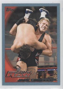 2010 Topps WWE Blue #48 - Jack Swagger /2010