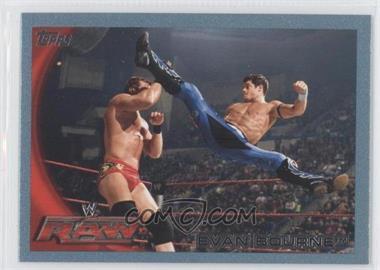 2010 Topps WWE Blue #57 - Evan Bourne /2010