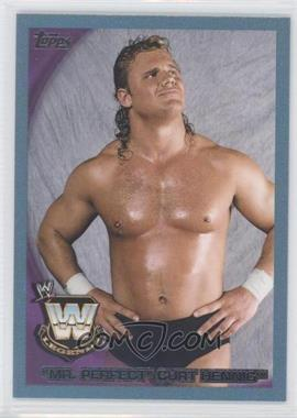 2010 Topps WWE Blue #78 - Mr. Perfect /2010