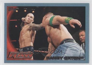 2010 Topps WWE Blue #9 - Randy Orton /2010