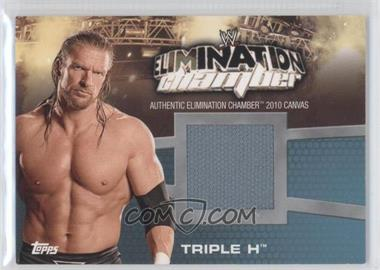 2010 Topps WWE Elimination Chamber Mat Relics #EC-3 - Triple H