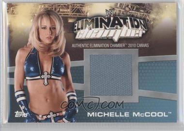 2010 Topps WWE Elimination Chamber Mat Relics #EC-9 - Michelle McCool
