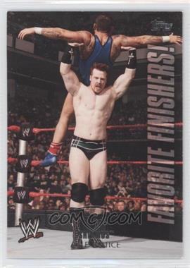 2010 Topps WWE Favorite Finishers! #FF5 - Sheamus