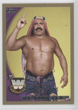 2010 Topps WWE Gold #95 - The Iron Sheik /50