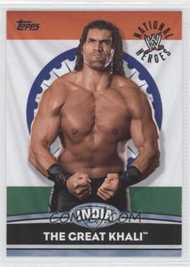 2010 Topps WWE National Heroes #NH12 - The Great Khali