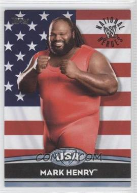 2010 Topps WWE National Heroes #NH21 - Mark Henry