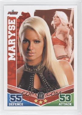 2010 Topps WWE Slam Attax Mayhem - [Base] #MA - Maryse