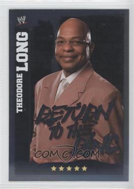 2010 Topps WWE Slam Attax Mayhem - General Managers #N/A - Theodore Long