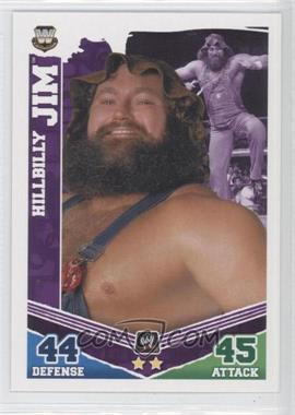 2010 Topps WWE Slam Attax Mayhem [???] #HIJI - Hillbilly Jim